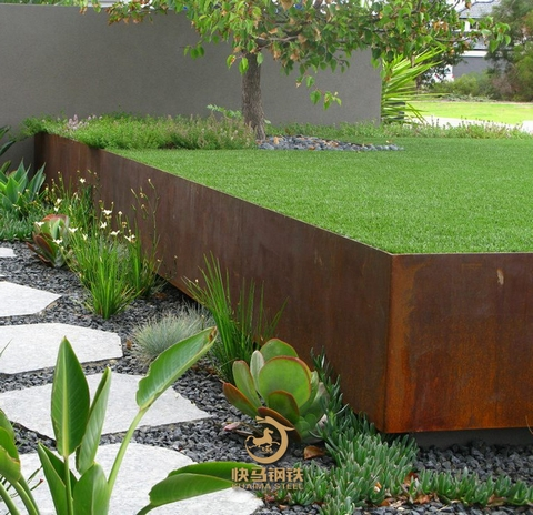 6个厚q345nh耐候钢板,红锈耐候钢板厂家直供