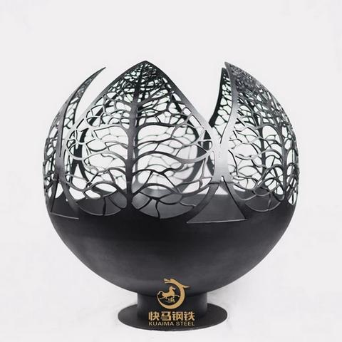 镂空定做宝钢q235nh耐候板,镂空耐候板雕塑