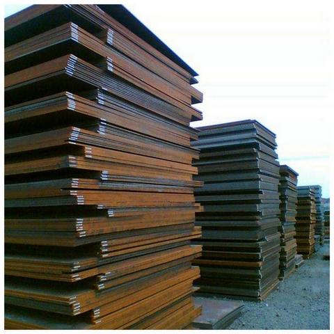 耐候锈钢板加工厂,q355nhe耐候板生锈