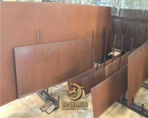 销售q235nh耐候板雕塑加工